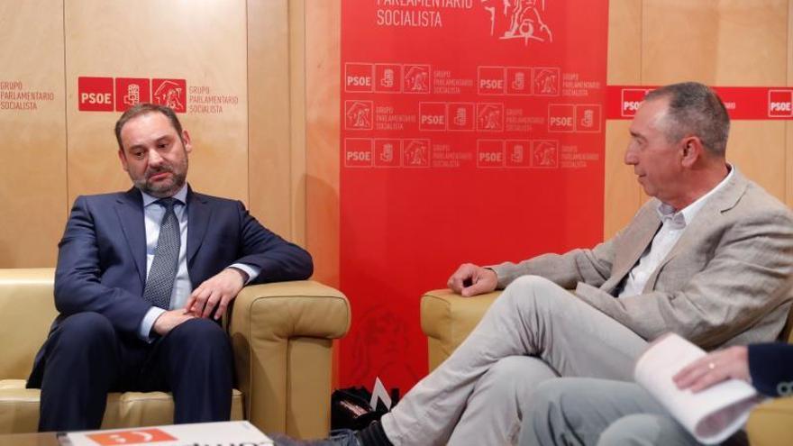Baldoví tras reunirse con Ábalos:  Creo que habrá gobierno antes de agosto