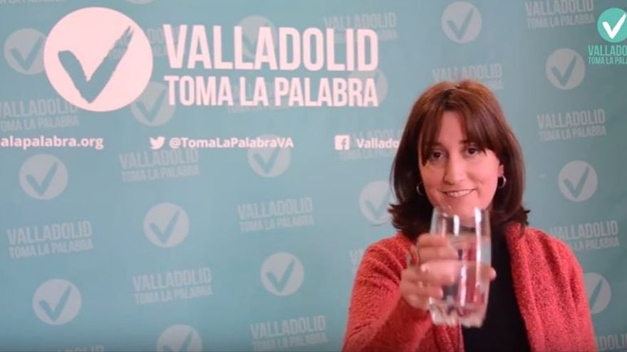 La edil de Valladolid Toma La Palabra, María Sánchez.