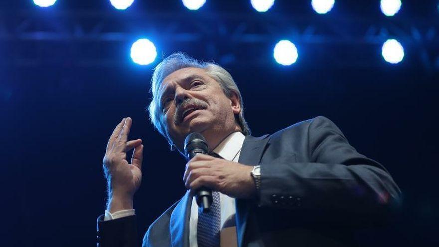 Alberto Fernández, en una imagen previa a su asunción