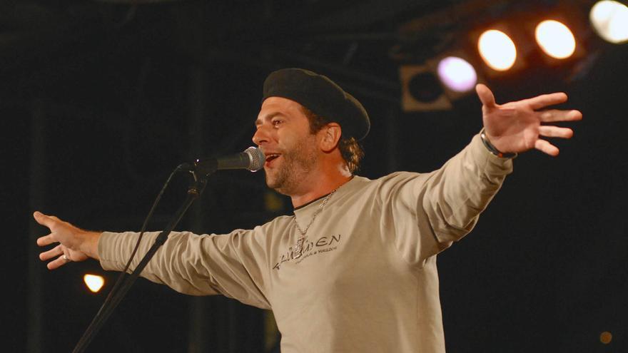 Palo Pandolfo durante una actuación en La Habana.
