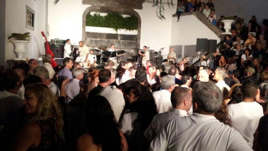 Imagen de archivo de la Noche Cubana en la Plaza de España de Santa Cruz de La Palma.