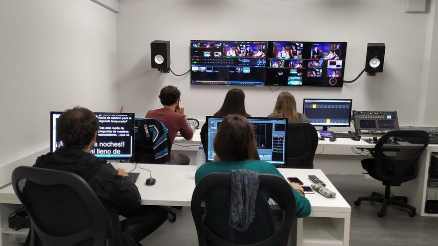 Alumnos de Comunicación Audivisual de la Universidad de Alcalá