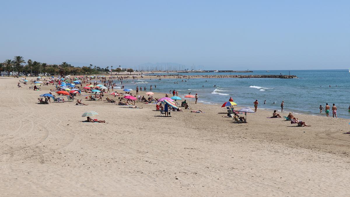 Playa de Sagunt.