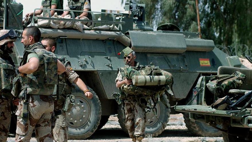 Un militar español herido grave en un accidente en su tiempo libre en Irak