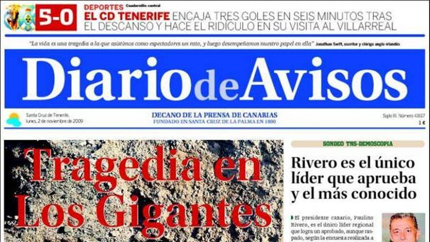 De las portadas del día (2/11/2009) #3