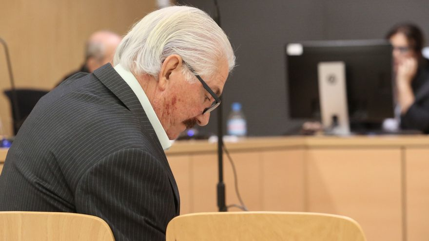 José Miguel Suárez Gil, en el juicio celebrado este martes. (ALEJANDRO RAMOS)