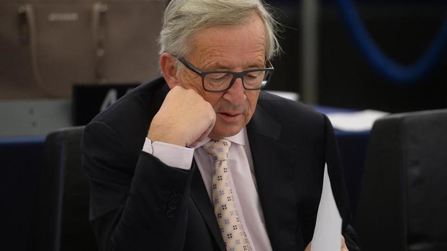 Juncker apela a la unidad y la estabilidad para resolver la situación en Cataluña