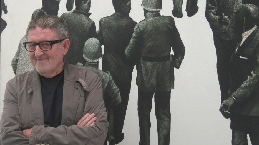 El artista valenciano Juan Genovés, fallecido a los 89 años