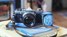 Una cámara Olympus