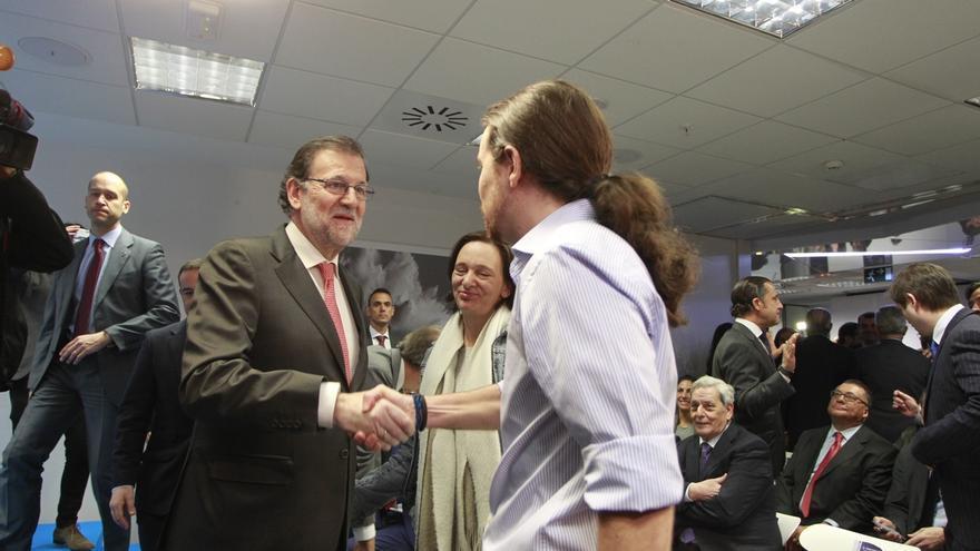 Rajoy se reúne con Pablo Iglesias en el Congreso el próximo martes
