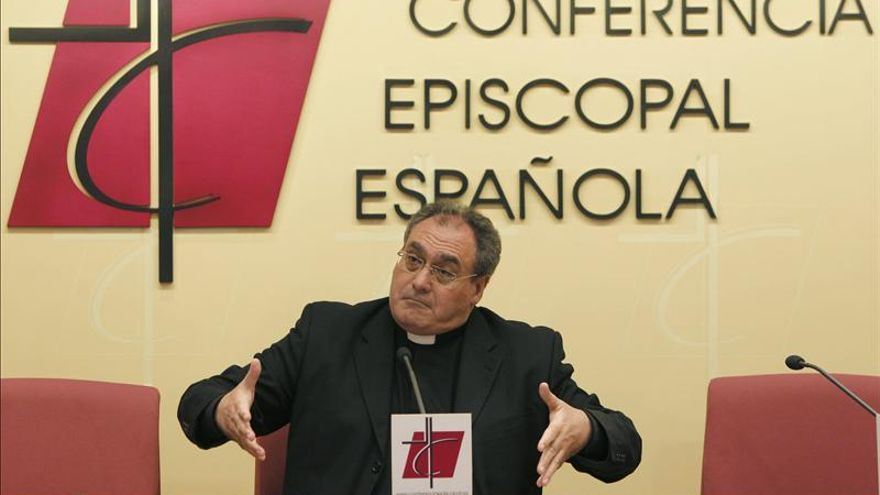 José María Gil Tamayo, portavoz de la Conferencia Episcopal