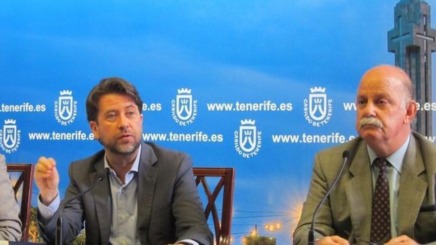 Carlos Alonso e Ignacio Pintado, en una imagen de archivo