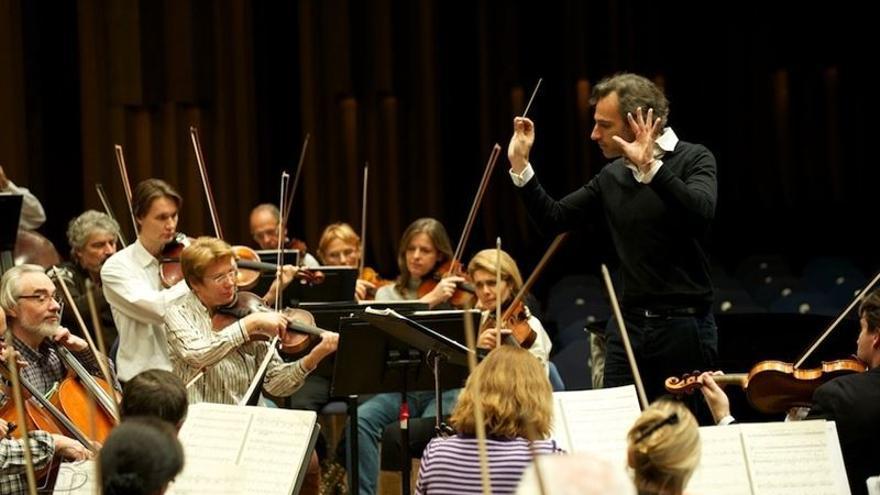 La Orquesta Filarmónica de Gran Canaria en una foto de archivo.