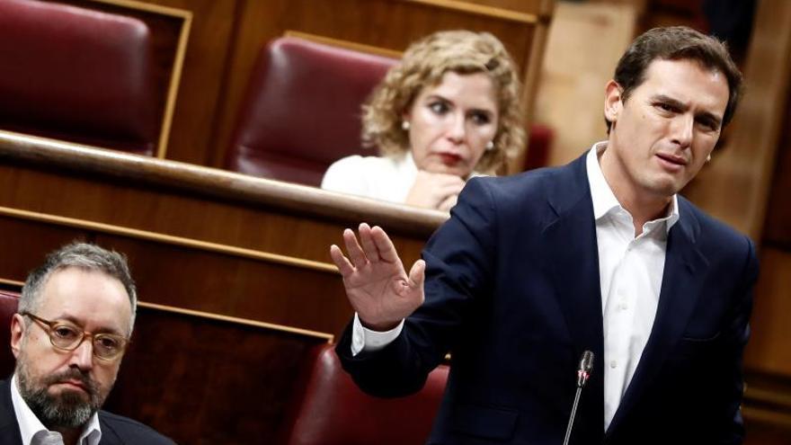 "Rivera ve ""inmoral"" que Sánchez indulte a lideres de ""procés"" si les condenan"
