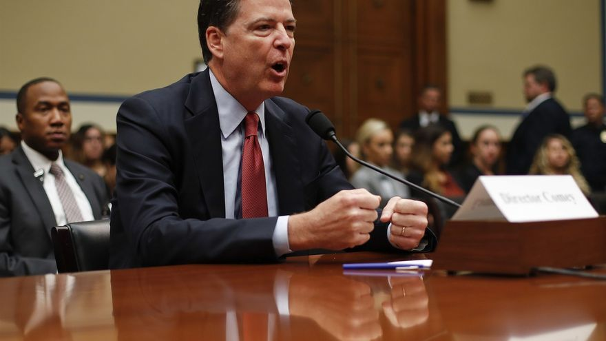 James Comey, el director del FBI