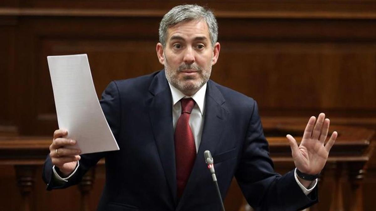 El senador por Canarias Fernando Clavijo
