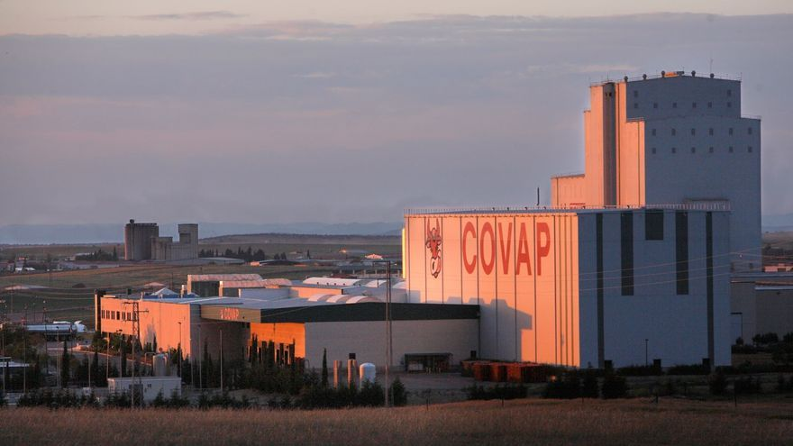 Planta lactea de la cooperativa agroalimentaria COVAP