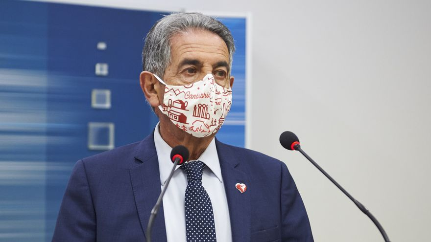 El presidente de Cantabria, Miguel Ángel Revilla.