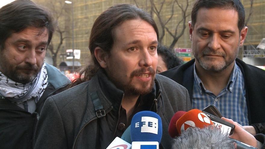 Pablo Iglesias (Podemos) visita este sábado a Andrés Bódalo, en prisión desde hace once meses