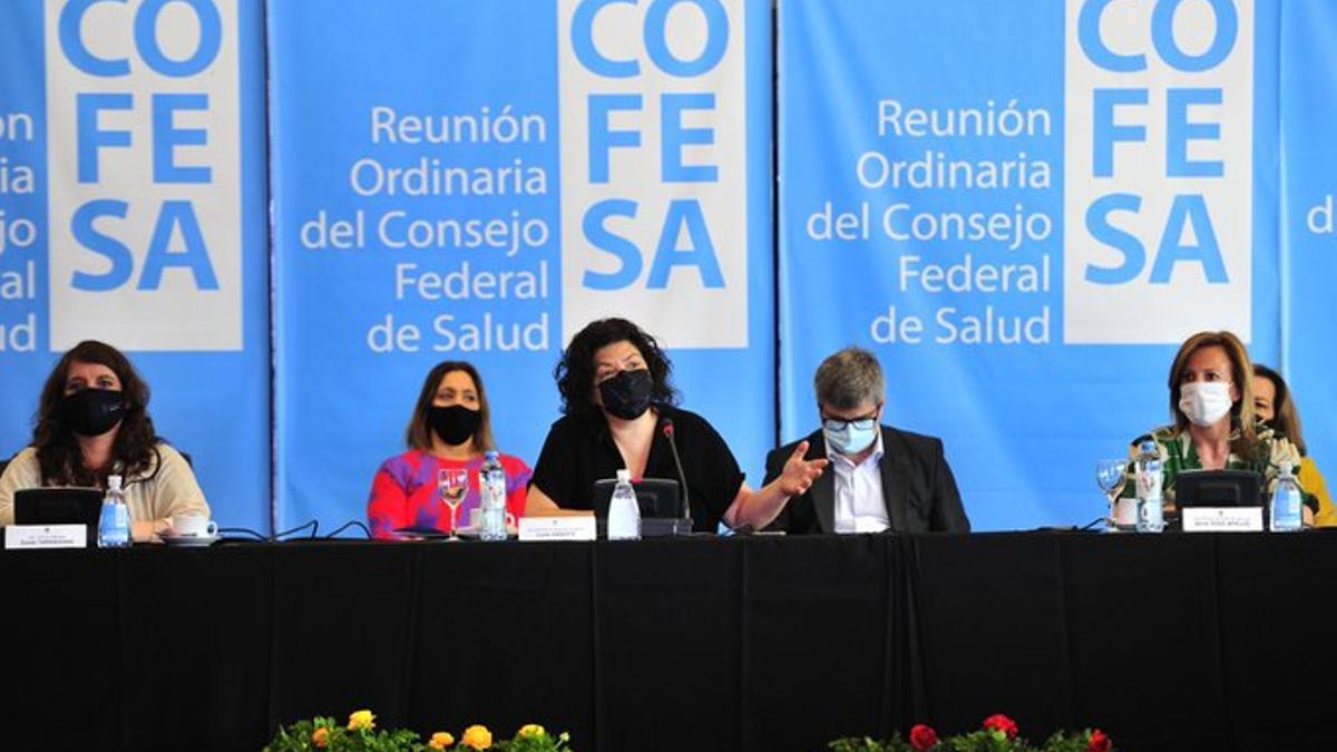 La ministra de salud preside en San Luis una nueva sesión del Consejo Federal de Salud (COFESA)