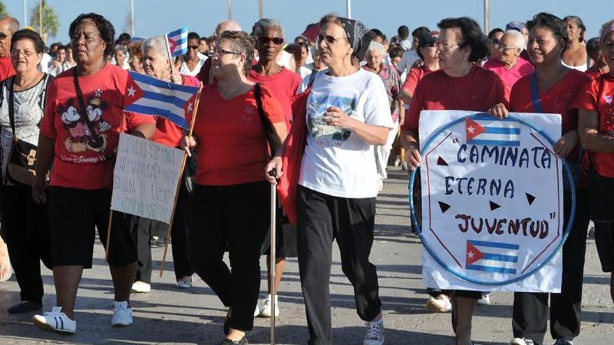 Casi el 20 por ciento de los cubanos tiene 60 años o más, según una estadística oficial