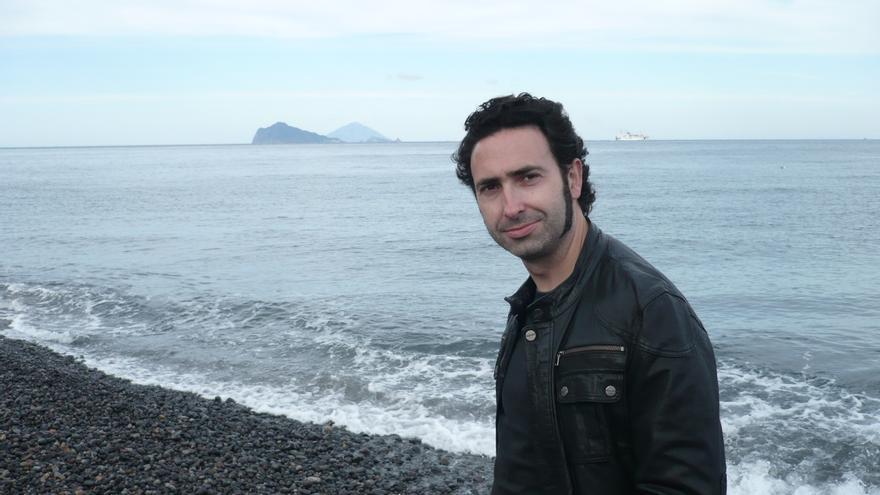 El escritor Jon Bilbao