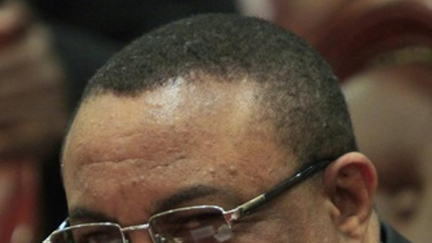 El primer ministro interino de Etiopía, Hailemariam Desalegn
