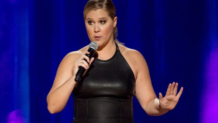 Amy Schumer en Leather Special