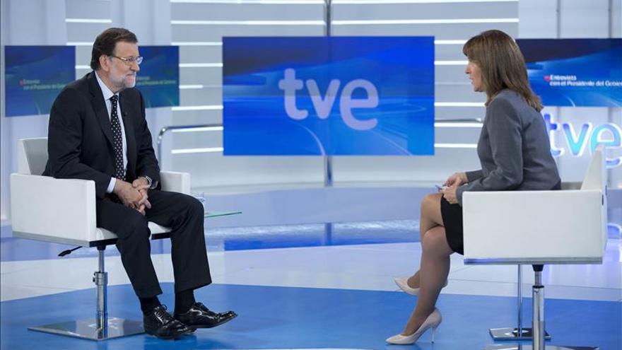 La entrevista a Rajoy en TVE fue vista por 2.230.000 espectadores