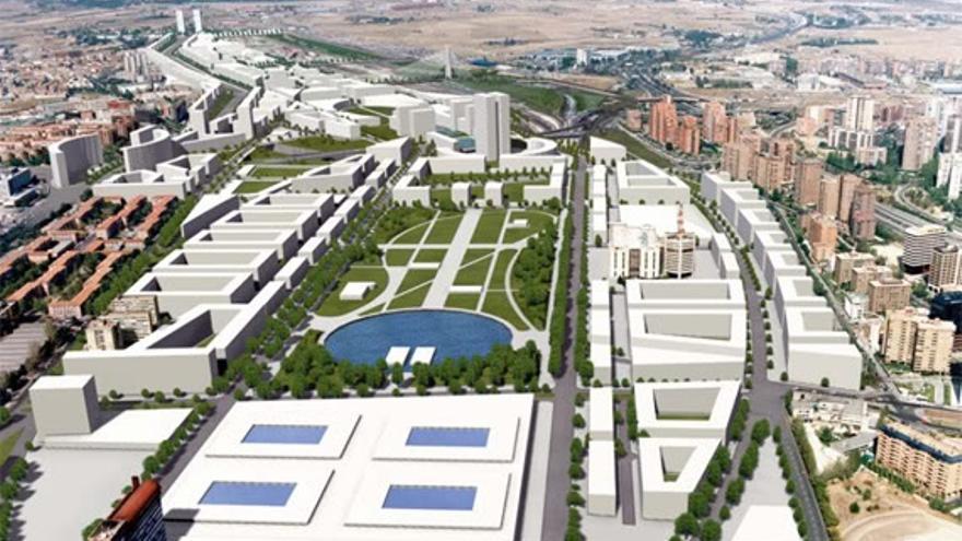"""(Ampl) Fomento, Comunidad y BBVA ven """"inviable"""" el proyecto Madrid Puerta Norte y piden """"reflexión"""" a Carmena"""