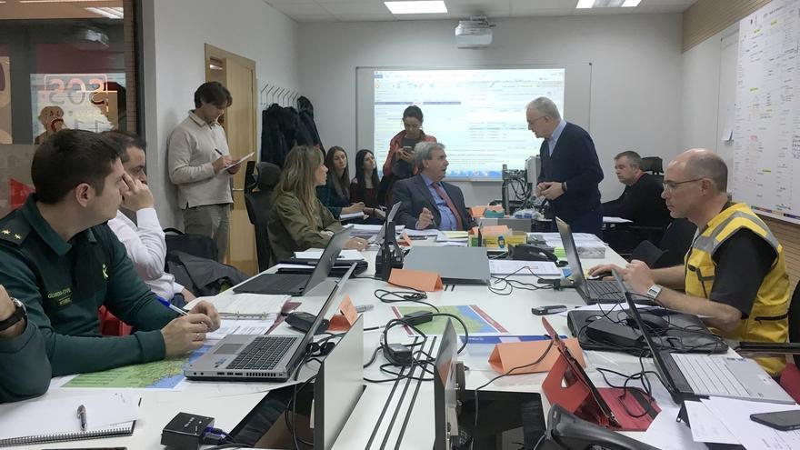 Revilla visitará el puesto de mando operativo desplegado en Torrelavega por el ejercicio 'Cantabria 2017'