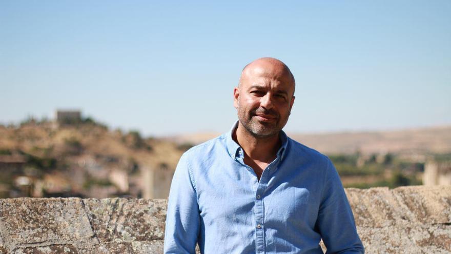 El secretario general de Podemos Castilla-La Mancha, José García Molina