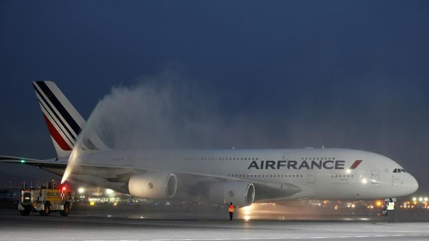 Air France suspende vuelos de París a Caracas del 30 de julio al 1 de agosto