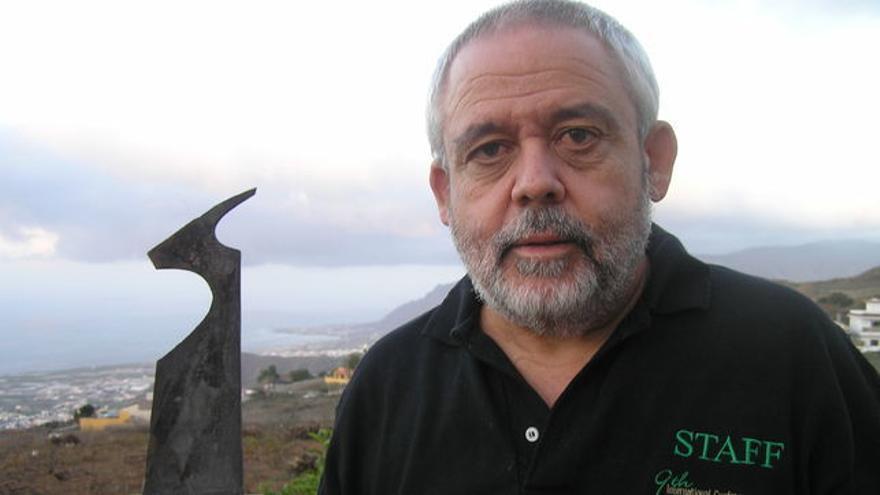 El investigador palmero Juan Capote.