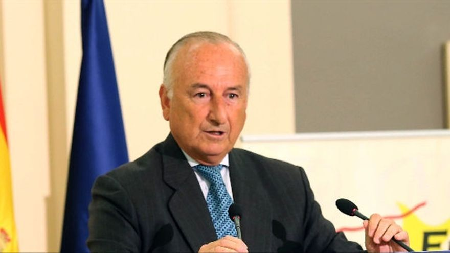 El expresidente del Puerto de Valencia, Rafael Aznar