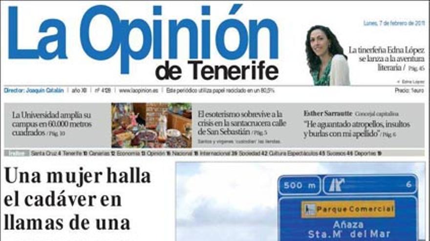 De las portadas del día (07/02/2011) #11