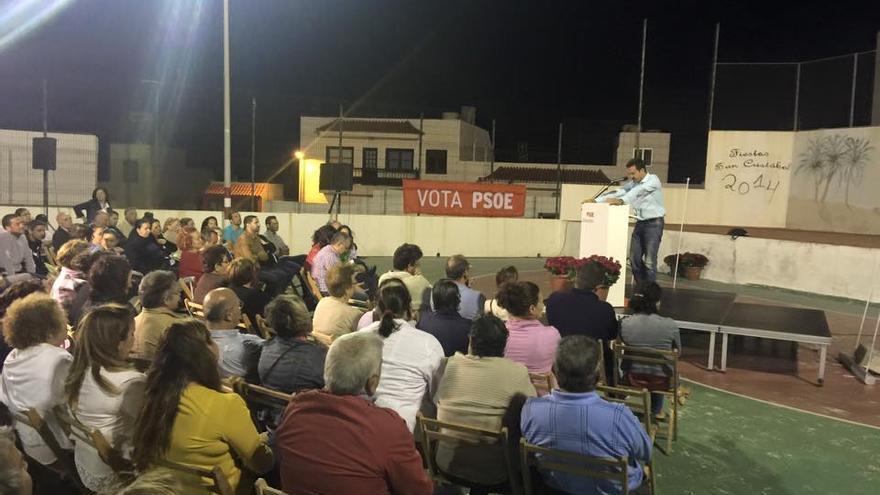 Jaime Noda durante su intervención en La Lomada
