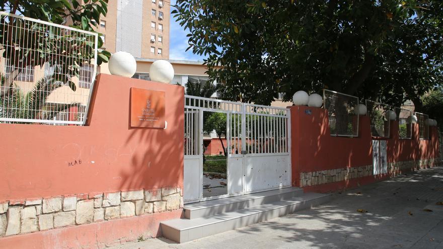 El centro de recepción de menores de Monteolivete, ahora cerrado.