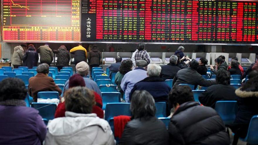 La Bolsa de Shanghái pierde el 0,09 % en la apertura