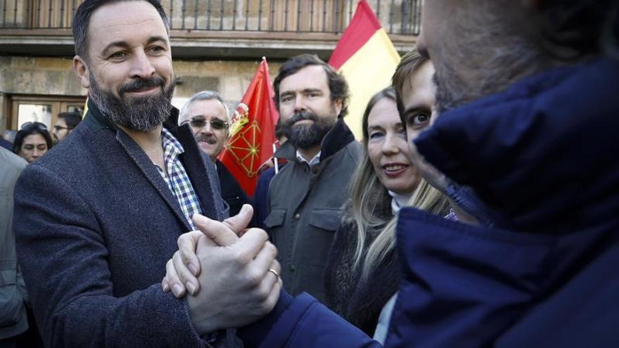 """Vox llama a PP y Cs a unirse a manifestación contra la """"impunidad"""" en el procés"""