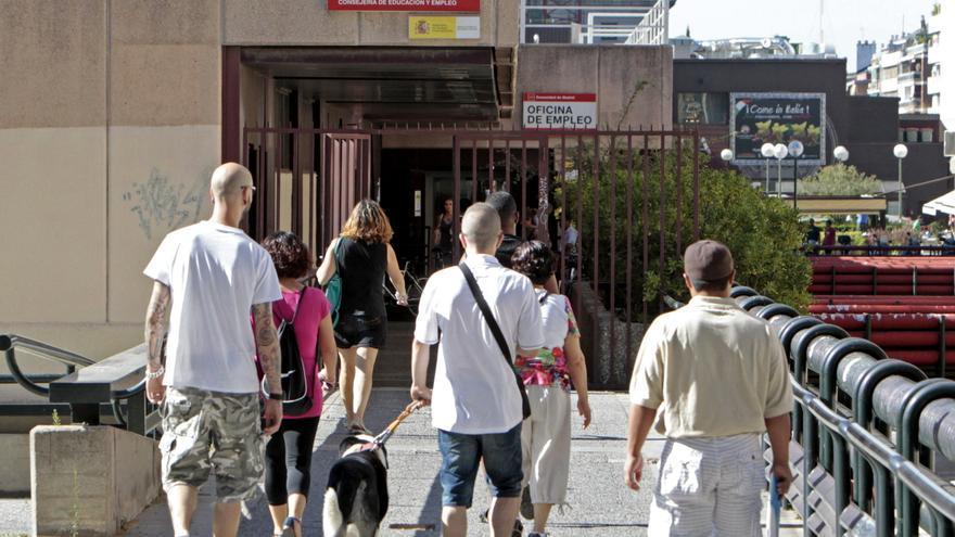 Oficina de empleo en Madrid. EFE