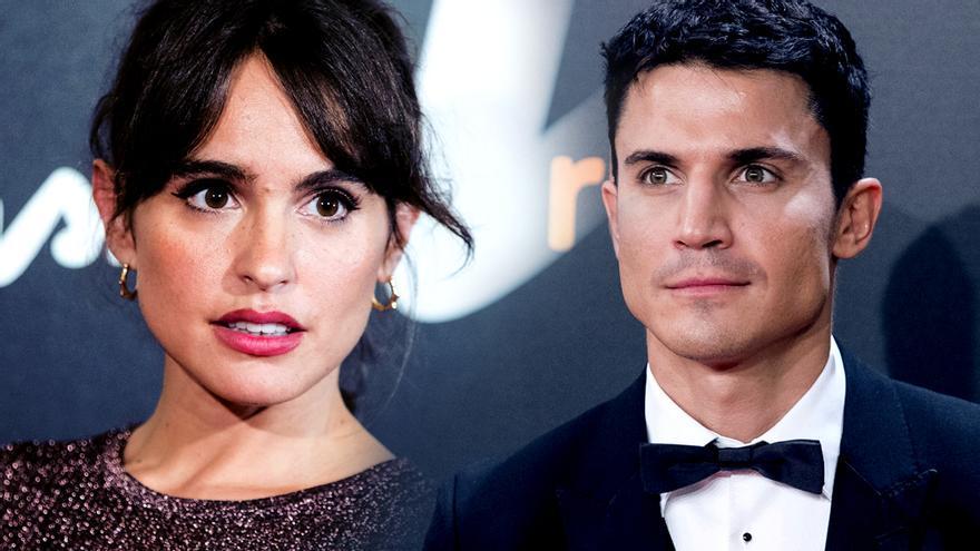 Verónica Echegui y Álex González