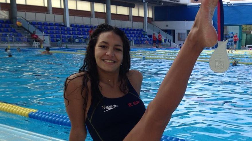 Sara Gijón natación sincronizada