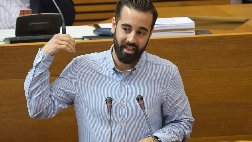 El diputado autonómico del PSPV José Muñoz, miembro de la gestora socialista