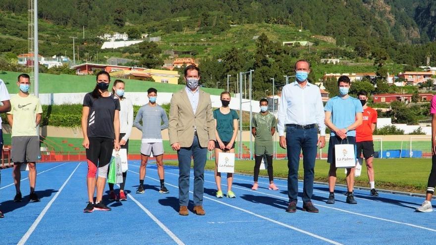 La selección suiza de atletismo elige La Palma para preparar la cita olímpica en Tokio