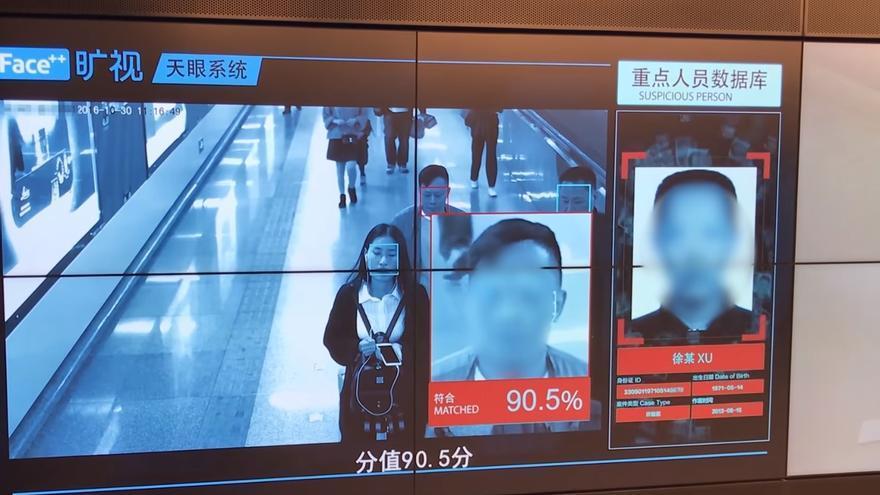 El sistema de vigilancia chino