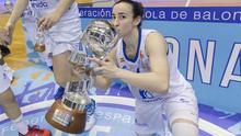Silvia Domínguez fue la MVP de la final con 27 puntos.
