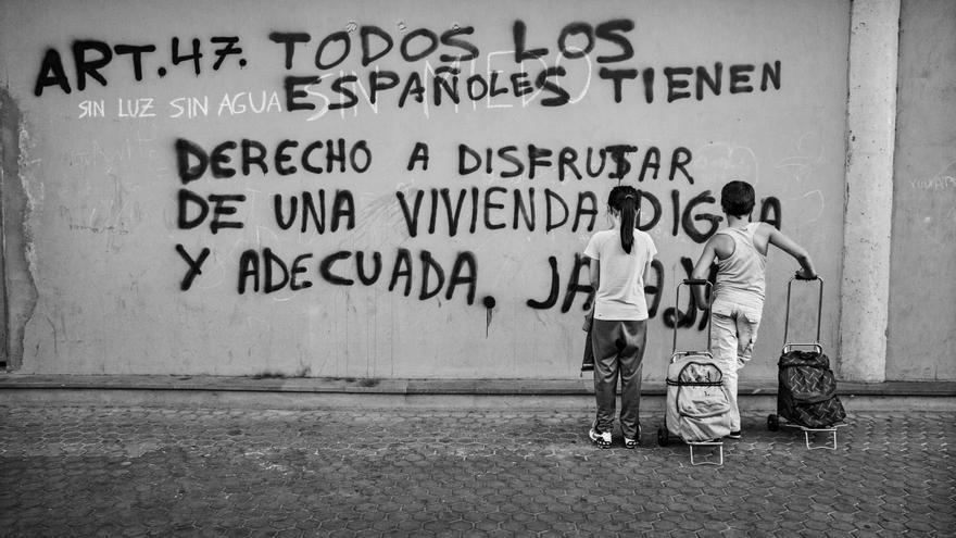 Pobreza Infantil en España. Aitor Lara/ Save the Children