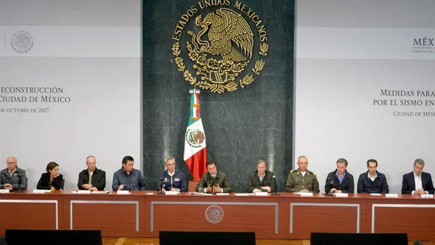 Capital mexicana acaba proceso de rescate tras sismo y prepara reconstrucción
