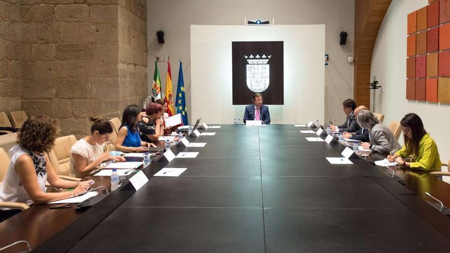 Consejo Gobierno Junta Extremadura